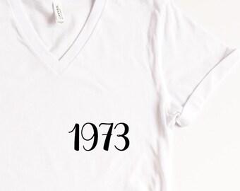 a5c6f4b85 Feminism Shirt, Womens Rights Tee, 1973 Roe vs. Wade, Pro-Choice Shirt,  Planned Parenthood Shirt, Equality T-Shirt, Social Justice Advocate