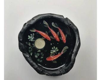 Ufficio Zen Garden : Painted zen garden etsy