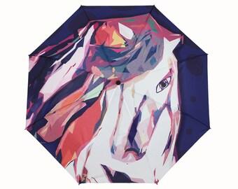 Wild Horse Umbrella a Unique Australian Design- Perfect Australian Gift