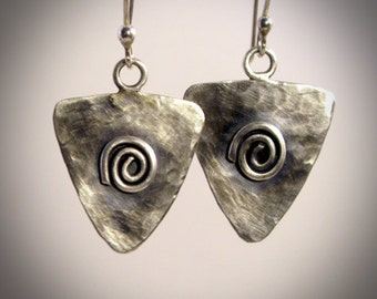 Triangle- Sterling Silver earrings