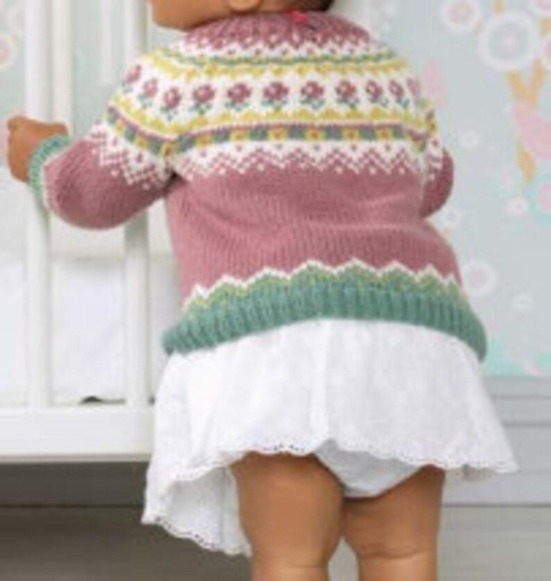 Emmarie Jumper Pdf Knitting Pattern Multiple sizes