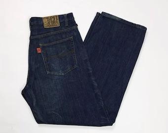 1aa7669fd4759 spitfire wheels jeans uomo usato relaxed comodo w36 tg 50 denim boyfriend  T3216