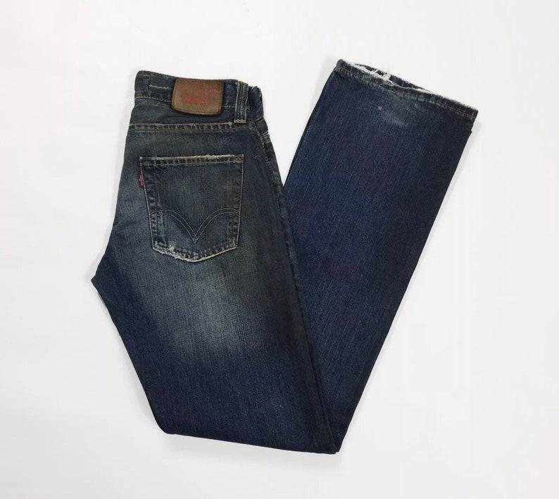 3ac304f1642 Levis 512 w29 L34 tg 43 jeans uomo donna unisex zampa bootcut | Etsy