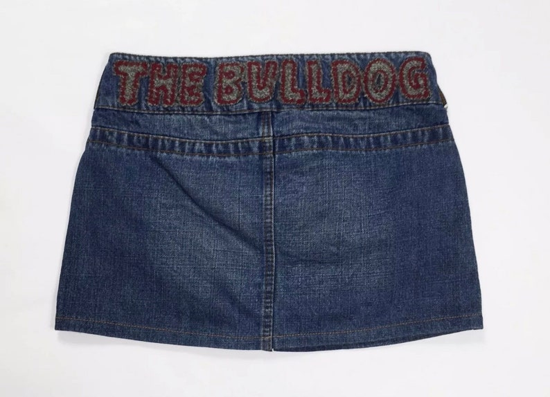 The Bulldog Amsterdam Moon Skirt Jeans w28 TG 42 used denim skirt dress T2933
