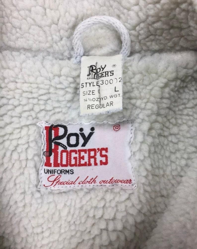 Roy Rogers jacket Sherpa jeans jacket L vintage fleece padded used winter luxury warm winter T4433