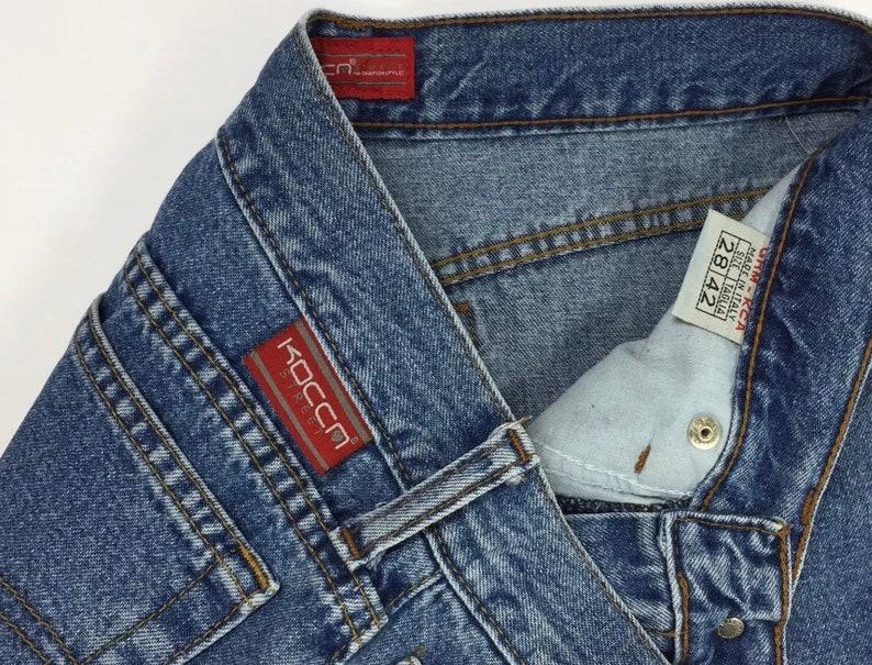 9f616a0e18740 Kocca jeans donna usato zampa bootcut w28 tg 42 hot mom
