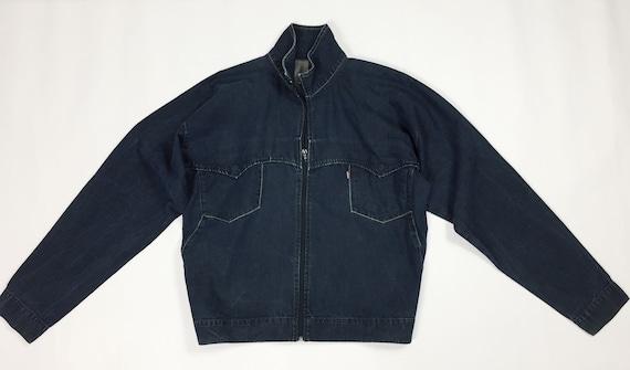 Levis giacca 77750 1225 l levis jeans giubbotto jacket biker etsy