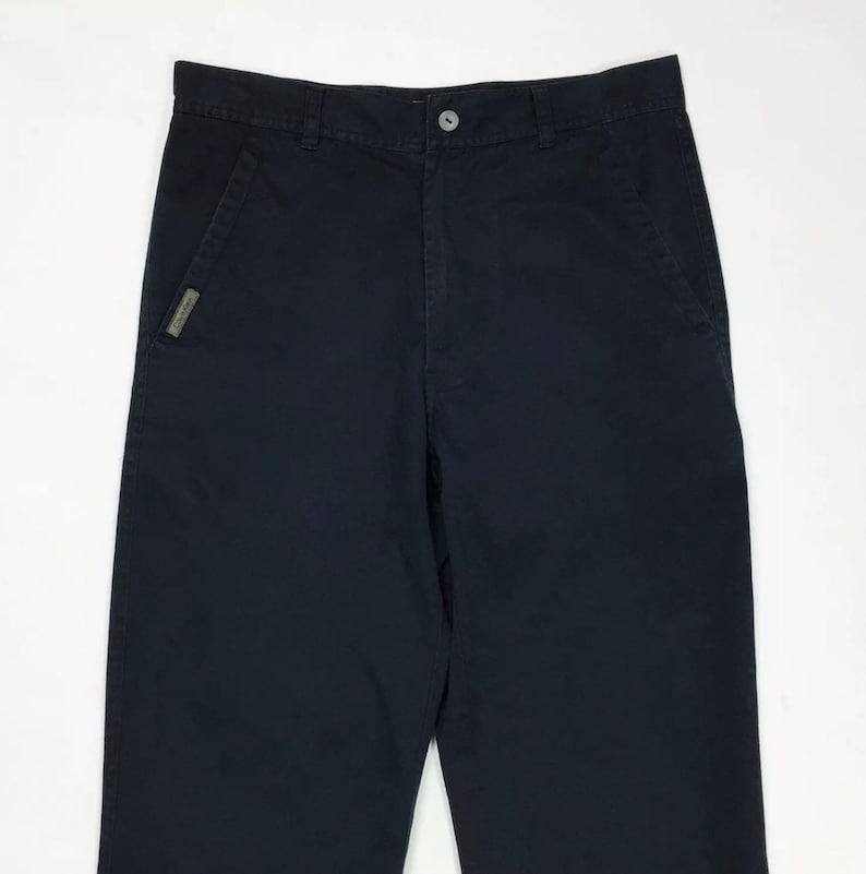 17c2ec680f Calvin Klein jeans pantalone uomo usato blu W29 L34 tg 43 gamba dritta T3661