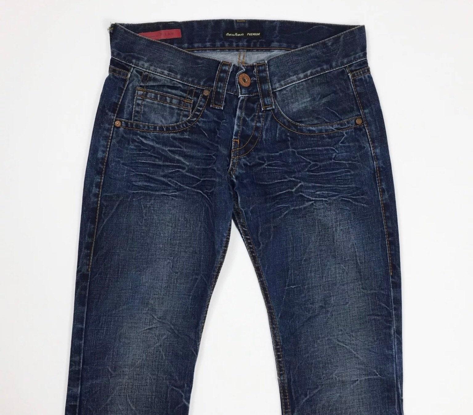 Guess jeans donna usato denim W27 tg 41 zampa bootcut svasati  5f4a08b8a9a