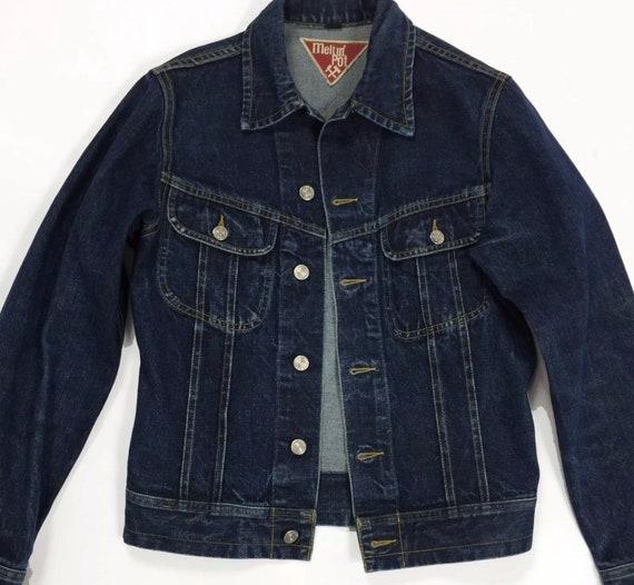 stile moderno prezzo folle Miglior prezzo Meltin pot giubbino giacca jeans jacket S blu donna vintage | Etsy