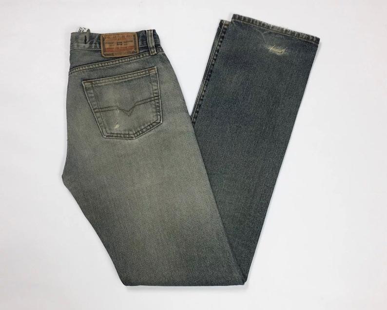 881fe5a2e4 Diesel zerox jeans donna usato denim W29 L34 Tg(IT)43 straight boyfriend  T3255