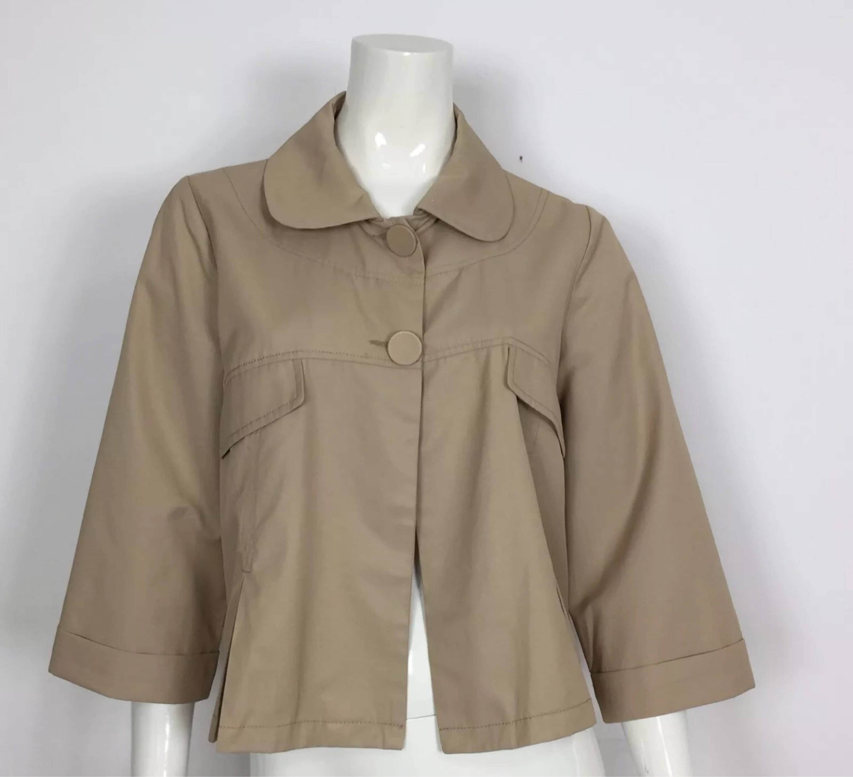 Anna moda piu giacca impermeabile donna usato jacket manica  23564761709