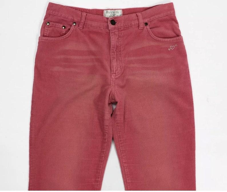 e6c72df8b0d5dc Blugirl jeans pantalone donna velluto a coste zampa svasati | Etsy