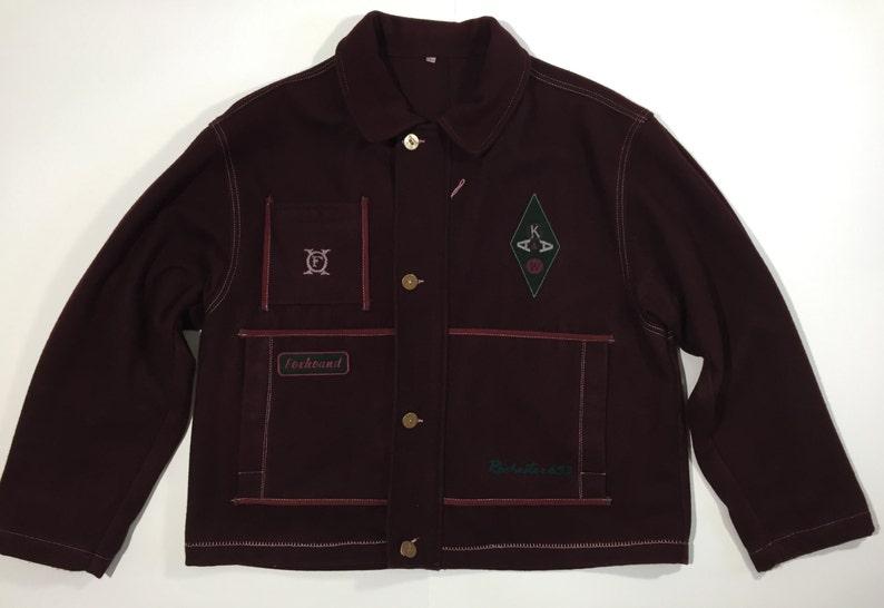Foxhound giacca giubbino giubbotto giacca jacket L misto lana  3ad21cd94a0