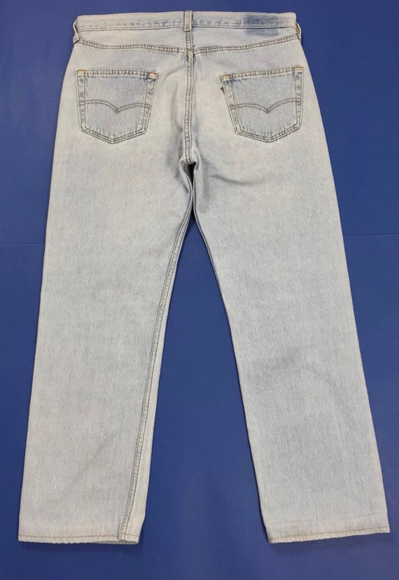 Levis 501 W36 TgIT50 jeans uomo usato vintage made in USA  5a559b16dfd