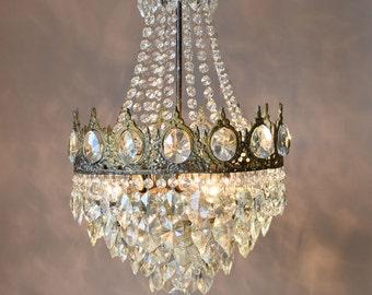 Impero cascata lusso illuminazione home living antichi etsy
