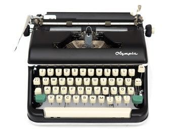 Olympia SM5 Typewriter Black
