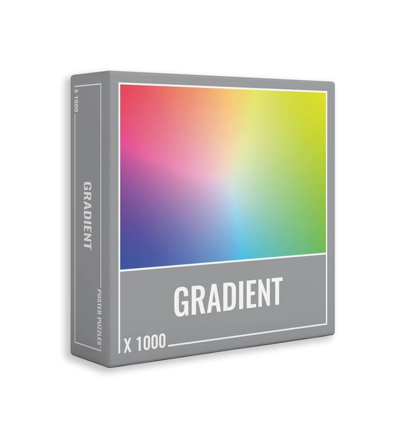 Gradient 1000 Piece Jigsaw Puzzle for Adults by Cloudberries. image 0