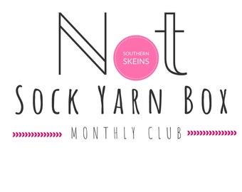 2021 January   NOT Sock Yarn Club   Hand Dyed   Yarn Subscription Box   Yarn Box   Mystery Yarn   Yarn of the Month Club   Monthly Yarn  