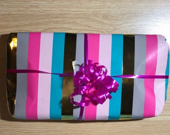 Gift Wrapping Service. If you would like your purchase wrapped and sent as a gift please let me know.