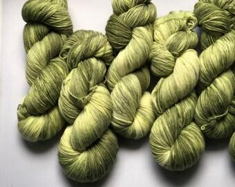 Shire - hand dyed sock yarn on superwash merino wool & nylon indie dyed sock yarn. Ready to ship  Free shipping