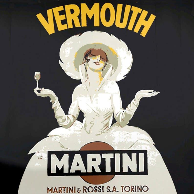 Vintage Blechschild Martini Retro Shabby-Chic Wall Plaque | Etsy