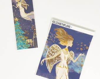 O Holy Night DOUBLE box add on  | Christmas, Celebration, Carol, Planner Stickers