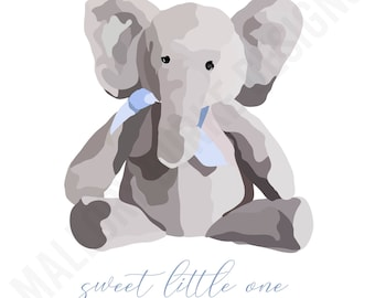 Sweet Little One - Blue