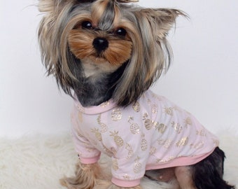 9ad5062a7 Summer Dog Shirt Dog Clothes Dog Shirt Pink Dog Shirt Puppy Shirt