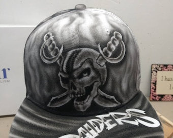 Raiders hat | Etsy