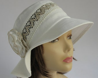 211c6878357bc Womens linen hats Suns hats womens Sun lace cotton hat Linen women s hats  Cotton summer hats Beach linen hats Sun hats lady Russian linen .