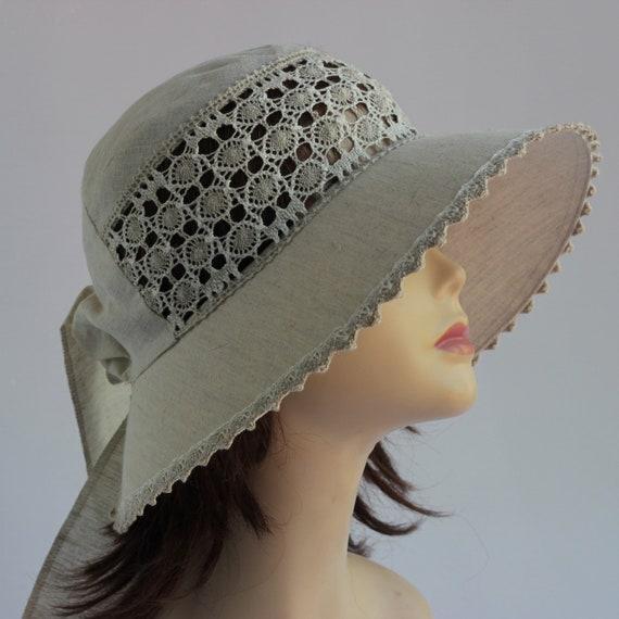 Quality Ladies Women Fashion Flax Summer Sun Festival Cloche Hat Cap
