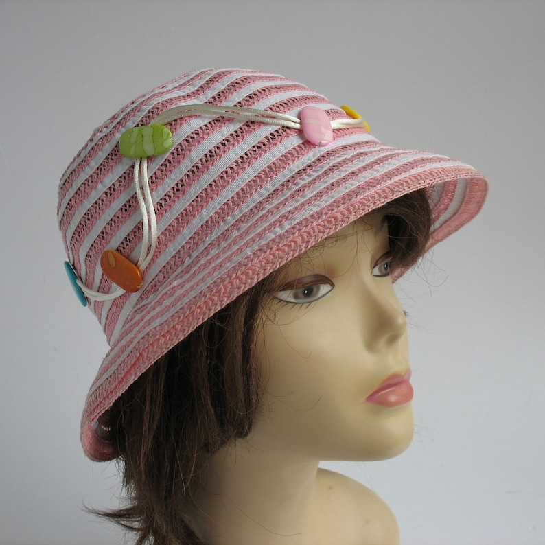 26bf7ab17d9 Cloche hats lady Kentucky Derby Hat Wide Brimmed Summer Hat