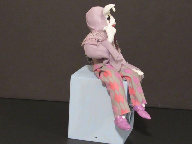 OOAK Art Doll Polymer Clay Doll Handmade Art Doll by Sherry Harrison Harla