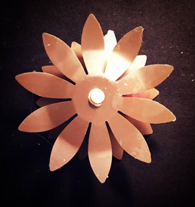 Blinged Out Flower Magnet