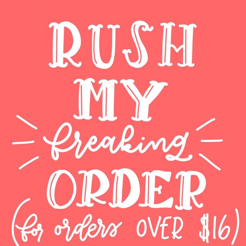 large ordersitems RUSH ORDER