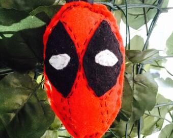 Deadpool  felt ornament