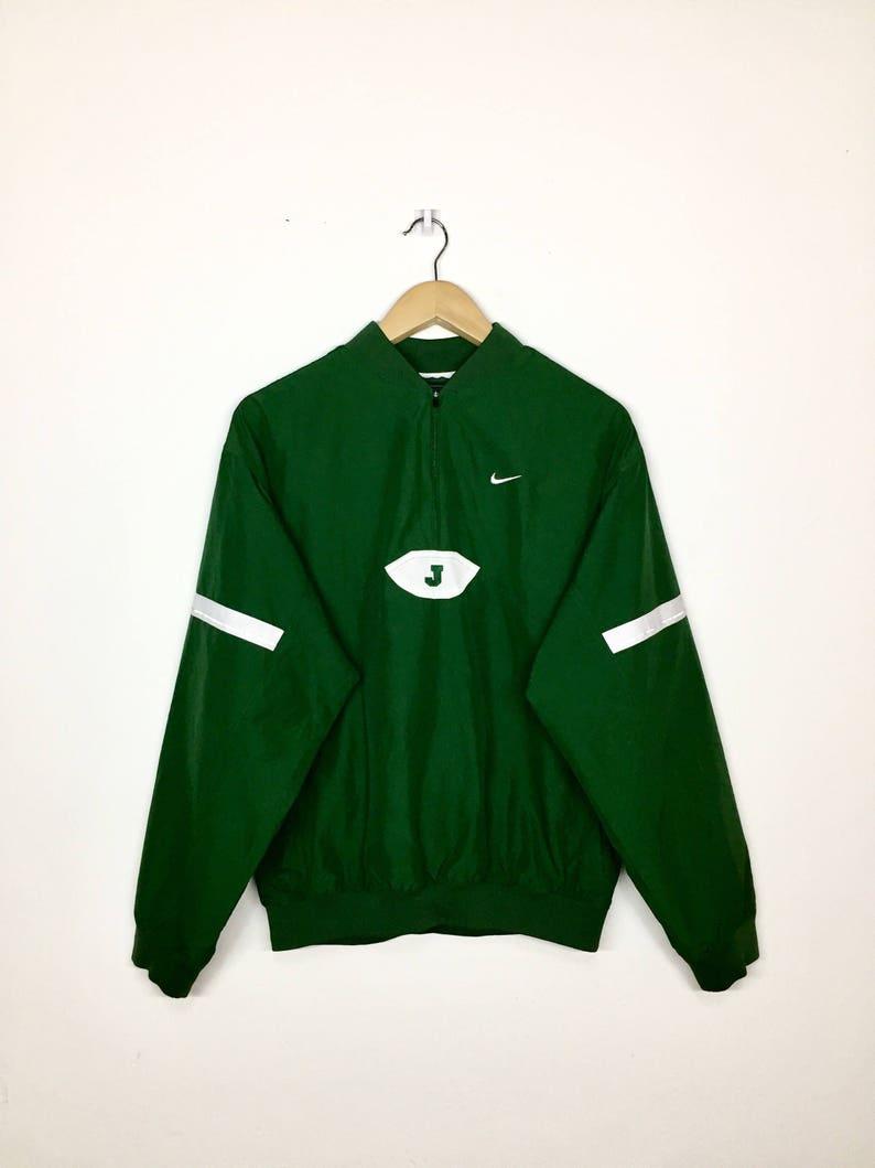 49d1851e43f Sale Vintage Nike Jordan Windbreaker Green Colour Jacket | Etsy