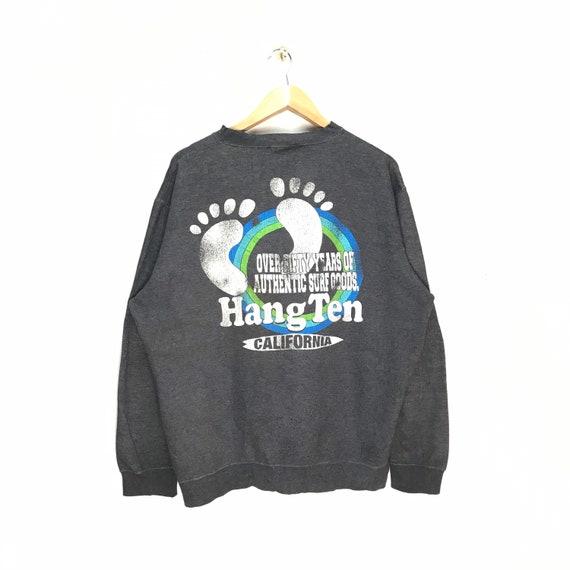 Rare Vintage Hang Ten Jumper / Hang ten Sweatshirt