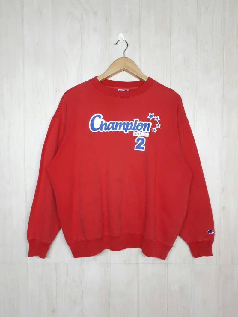 050ec9834662 Vintage Champion Sweatshirt   Champion 90s Sweater   Champion