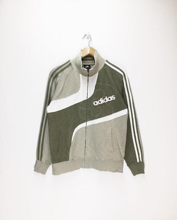 Rare Vintage Adidas Sweater Adidas Jumper Adidas Sweatshirt Rare Vintage Design Sportswear Activewear Adidas Medium Size