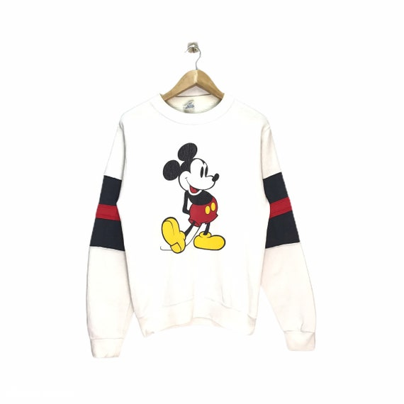 Rare Vintage Mickey Jumper / Mickey Sweatshirt / D