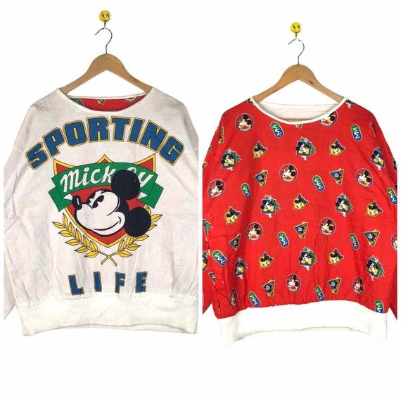 Rare Vintage Mickey Jumper / Mickey Sweatshirt Riv