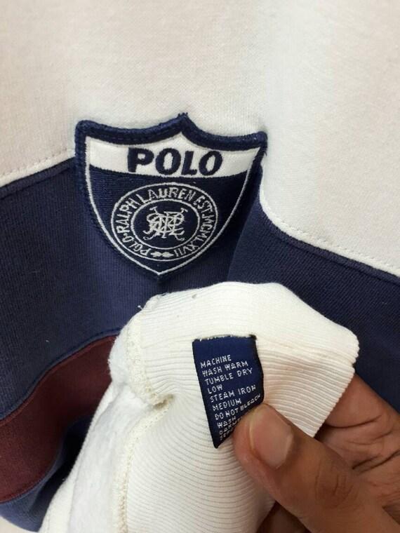 Polo Multicolor Polo P92 Ralph Sweatshirt Striped Vintage Sweatshirt Lauren Pwing 1a6Onwf8q