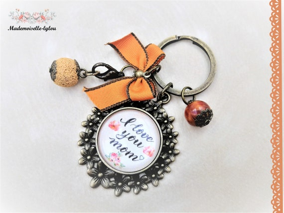 Womens keychain mother day gift quote keychain women gift  6e35a9408b