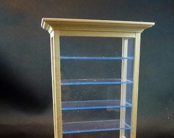 Dollhouse Miniature Bookcase 4 shelf 1:12 one inch scale J22 Dollys Gallery