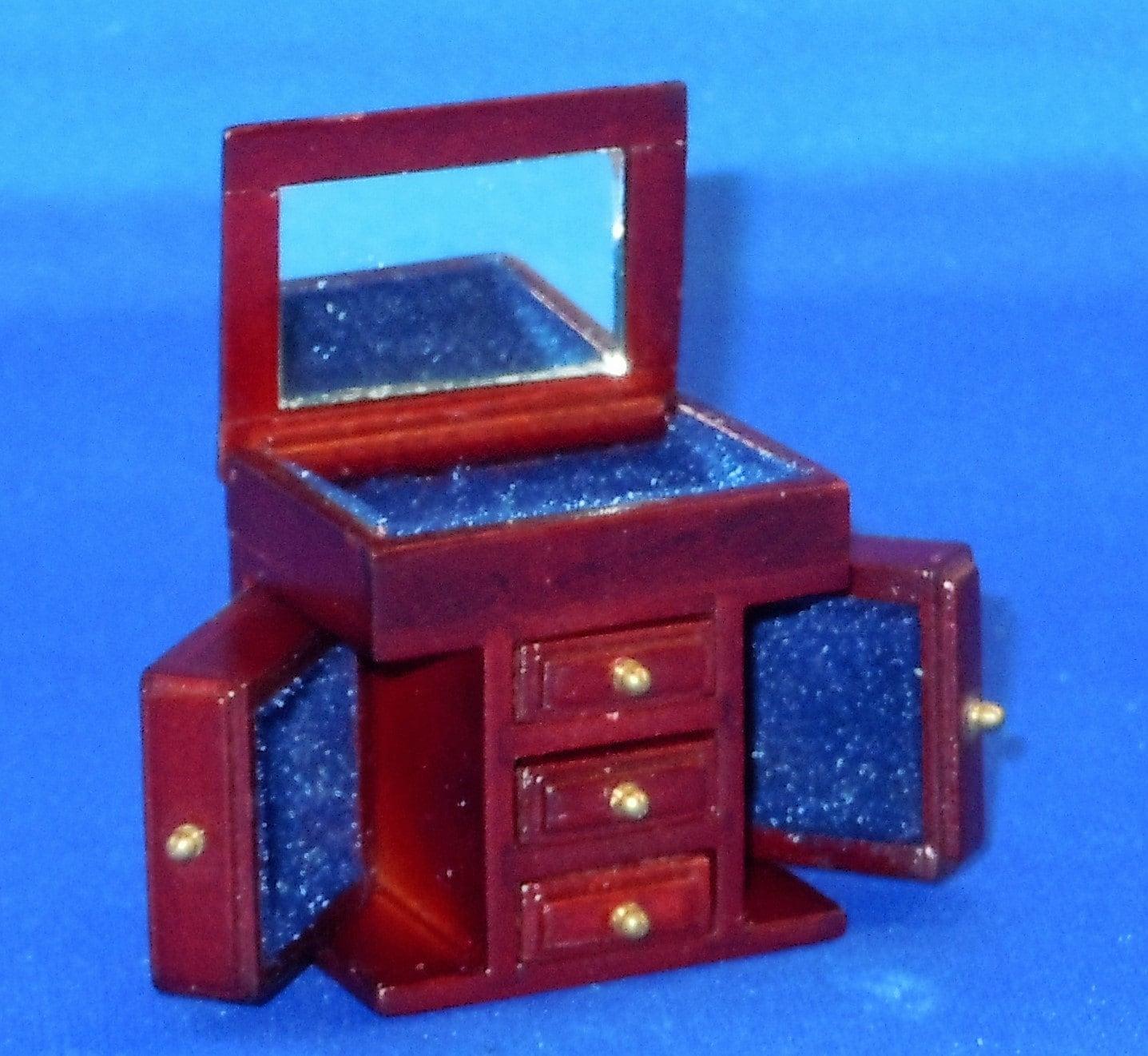 Dollhouse Miniature Accessory Jewelry Chest By Heidi Ott