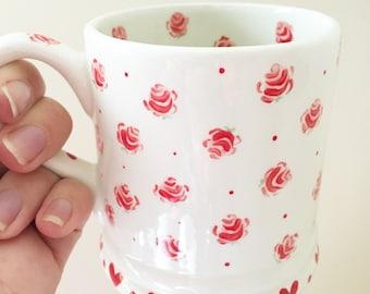 Mug Red Rose