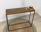 Vintage Console Table Wal...