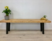 Bench, bench, wooden bench,lowboard made of solid ash, for hallway or dining table,art from Remagen/Rhine,NACHHALTIG,UPCYCLING